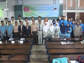 Workshop Arduino, Wujud Pengabdian Electronic Club